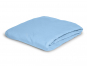 Spannbetttuch, blau, 100 x 220 cm. Bild 2