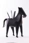 Stift- und Zettelhalter Pferd, schwarz. Bild 2