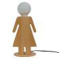 Tischlampe »Frau aus Holz«. Bild 2