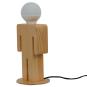 Tischlampe »Mann aus Holz«. Bild 2