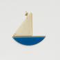 2 Wanddeko-Schiffe, blau. Bild 3