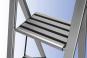 Klapptrittleiter aus Aluminium, 3-stufig. Bild 3