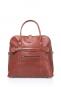 Damenhandtasche mit Tragegriff, braun. Bild 3
