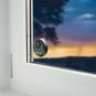 Glasbruchalarm für Fenster, schwarz. Bild 3