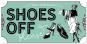 Hängeschild »Shoes Off Please«. Bild 3