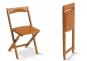 Klappstuhl aus Buchenholz, 2er Set. Bild 3
