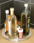 Küchen-Karussell aus Edelstahl, 1 Ebene. Bild 3