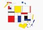 Make Your Own Mondrian. An Immersive Modern Art Puzzle. Bild 3