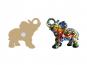 Mosaik-Magnet »Elefant«. Bild 3