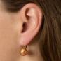 Ohrringe Muranoglas, rot. Bild 3