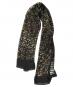Schwarzer Schal aus Seide »Klimt«. Bild 3