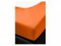 Spannbetttuch, orange, 180 x 200 cm. Bild 3
