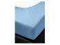 Spannbetttuch, blau, 140 x 200 cm. Bild 3