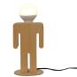 Tischlampe »Mann aus Holz«. Bild 3