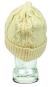 Aran-Mütze aus Wolle, beige. Bild 4