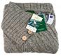 Damen-Poncho aus Wolle, braun. Bild 4