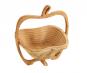 Faltbarer Obstkorb aus Bambus. Bild 4