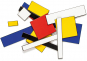 Make Your Own Mondrian. An Immersive Modern Art Puzzle. Bild 4