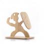 Messer-Set mit Holzhalterung. Bild 4