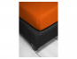 Spannbetttuch, orange, 180 x 200 cm. Bild 4
