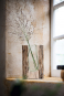 Große Vase mit Holzelement. Bild 4