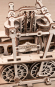 Holzbausatz »Dampflokomotive Locomotion 1824«. Bild 5