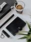 Portemonnaie mit Lampe, schwarz. Bild 5