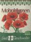 Saatgut-Set Mohnblumen und Kornblumen. Bild 5