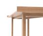 Schmaler Tisch aus massiver Eiche. Bild 5