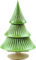 Tannenbaum aus Keramik, grün. Bild 5