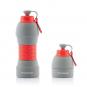 Faltbare Trinkflasche aus Silikon. Bild 6