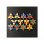 Magnet Relief Mosaik, Rhomben. Bild 6