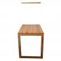 Massivholz-Klapptisch mit Tafel, aus Eiche. Bild 6