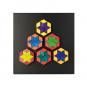 Magnet Relief Mosaik, Rhomben. Bild 7