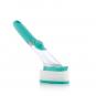 Reinigungsbürste mit Griff und Seifenspender. Bild 7