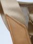 Segeltuch-Rucksacktasche »Ketsch Mini«, weiß/grau. Bild 7