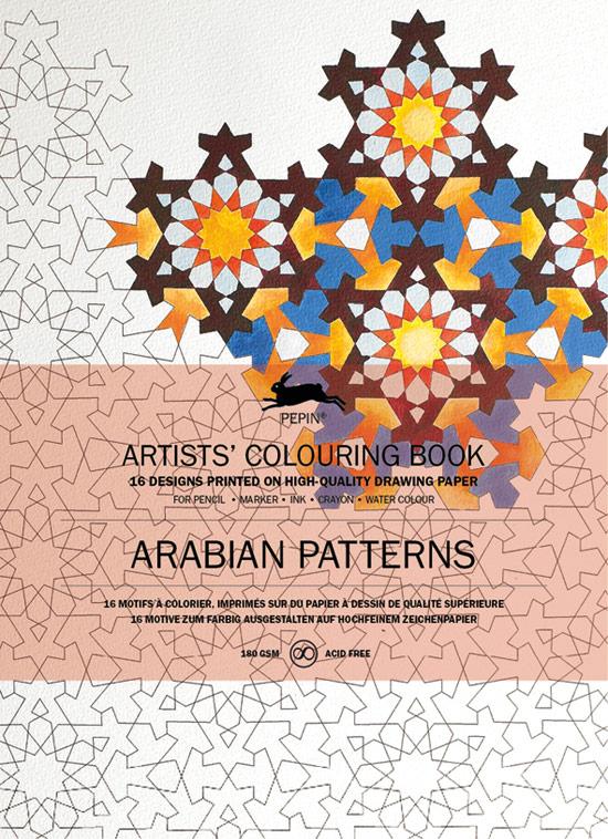 künstlermalbuch »arabische muster«  jetzt online bestellen